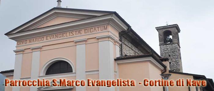 parrocchia san marco evangelista cortine di nave